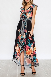 Flying Tomato Emma Floral Dress - Front full body
