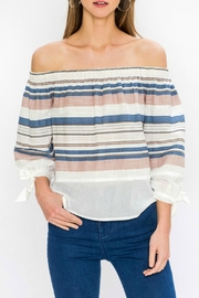 Flying Tomato Estella Off-The-Shoulder Top - Product Mini Image