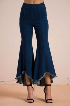 Flying Tomato Flared Denim Jeans - Product List Image