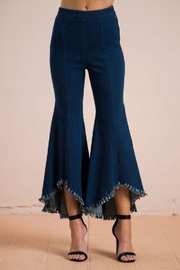 Flying Tomato Flared Denim Jeans - Product Mini Image