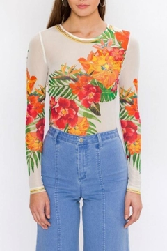 Flying Tomato Floral Bodysuit - Product List Image