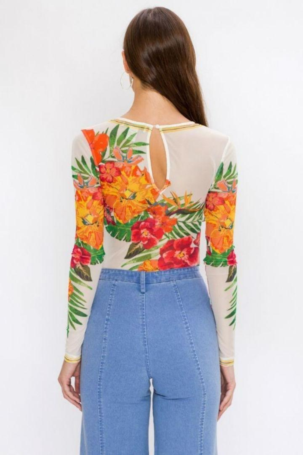 91c5f468d5 Flying Tomato Floral Bodysuit from Brooklyn by Glam Expressway ...