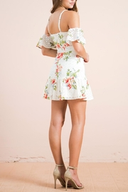 Flying Tomato Floral Eyelet Dress - Side cropped