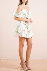 Flying Tomato Floral Eyelet Dress - Product Mini Image