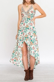 Flying Tomato Floral Gypsy Dress - Product Mini Image