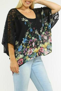 Flying Tomato Floral Lace Kimono - Product List Image