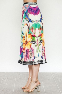 Flying Tomato Floral Midi Skirt - Alternate List Image