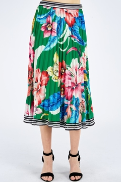 Flying Tomato Floral Pleated Skirt - Product List Image