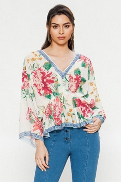 Flying Tomato Floral Print Blouse - Product List Image
