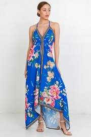 Flying Tomato Floral Print Dress - Front cropped