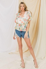 Flying Tomato Floral Top - Front cropped