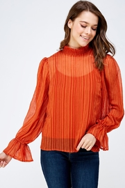 Flying Tomato High Neck Top - Product Mini Image