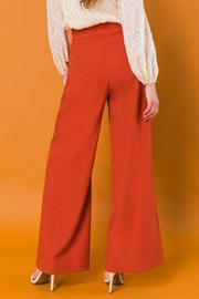 Flying Tomato High Waist Wide Leg Woven Pants - Back cropped