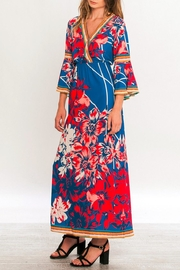 Flying Tomato Isabella Flower Maxi Dress - Side cropped