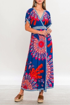 Shoptiques Product: Kimono Sleeve Maxi Dress