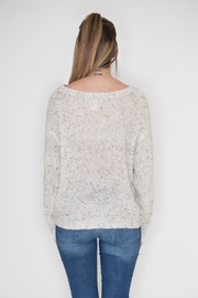 Flying Tomato Lace Panel Sweater - Side cropped