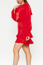 Flying Tomato Lady In Red - Front full body