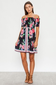 Flying Tomato Lily's Floral Summer Dress - Product List Image