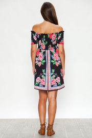 Flying Tomato Lily's Floral Summer Dress - Side cropped
