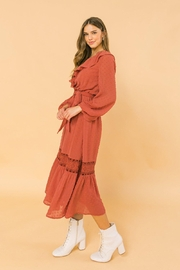Flying Tomato Lovely And Romantic Dress - Back cropped