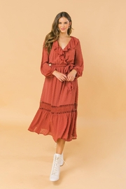 Flying Tomato Lovely And Romantic Dress - Front cropped