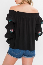 Flying Tomato Off Shoulder Blouse - Other