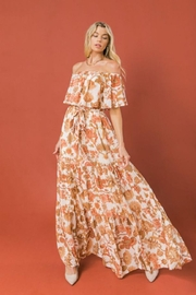 Flying Tomato Off-Shoulder Floral Maxi - Product Mini Image