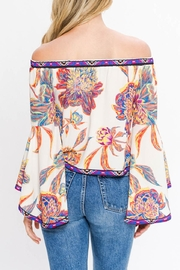 Flying Tomato Off Shoulders Floral - Front full body