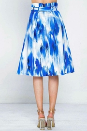 Flying Tomato Pleated Printed Skirt - Side cropped