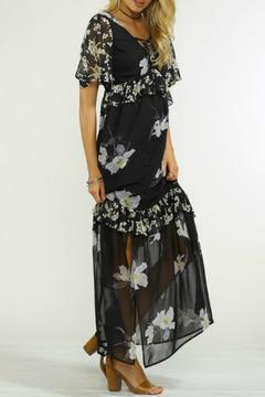 Flying Tomato Black Floral Maxi Dress - Product List Image