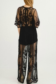 Flying Tomato Black Beauty Jumpsuit - Side cropped