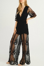 Flying Tomato Black Beauty Jumpsuit - Front cropped