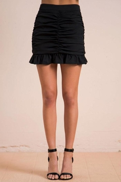 Flying Tomato Ruched Mini Skirt - Product List Image