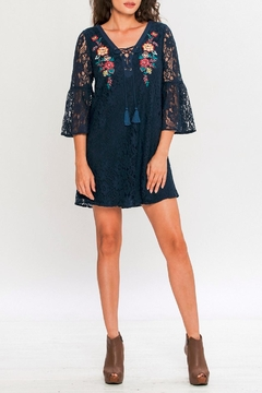 Shoptiques Product: Shift Lace Mini Dress