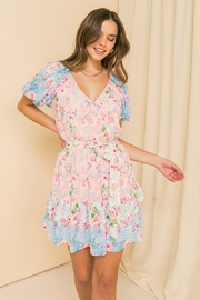 Flying Tomato So In Love Floral Dress - Product Mini Image