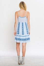 Flying Tomato Summer In Blue Dress - Side cropped