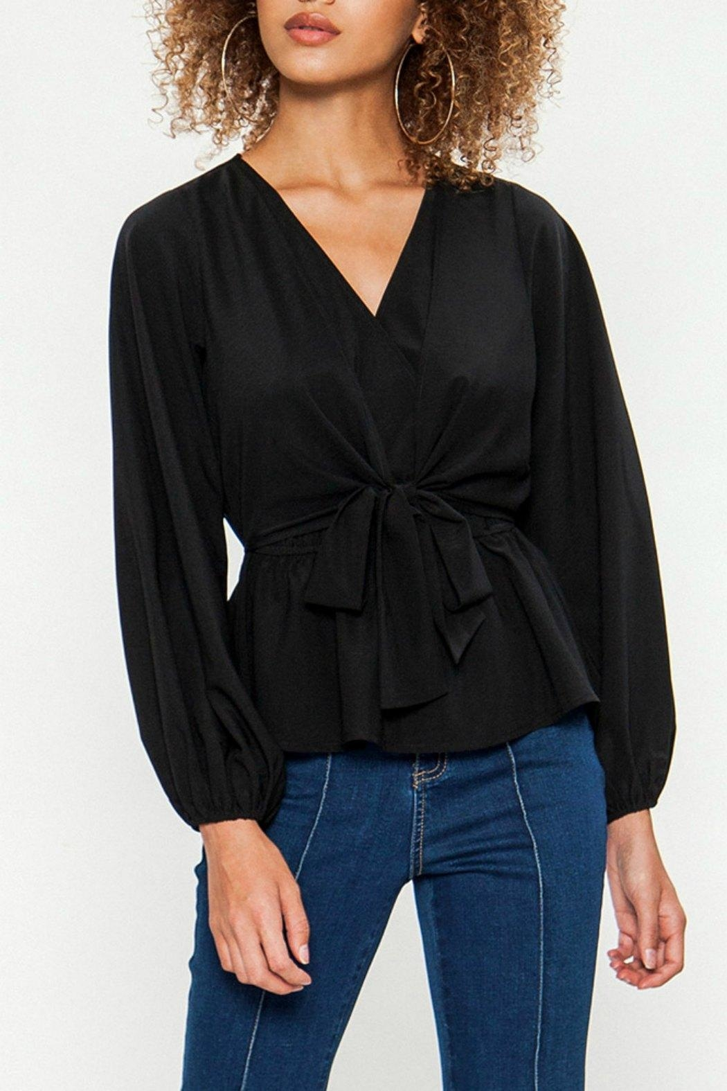 Flying Tomato The Beautiful Blouse - Front Cropped Image