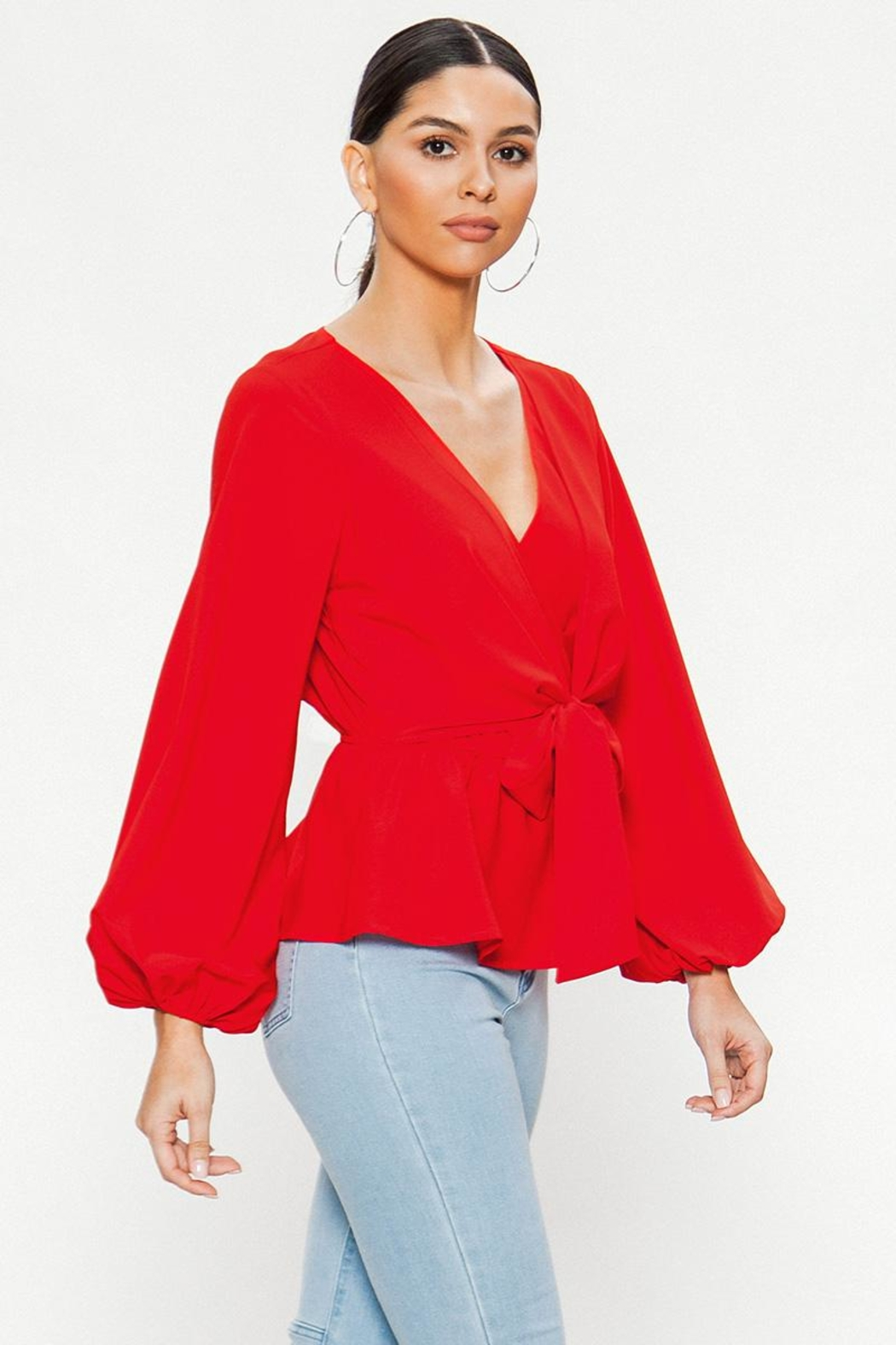 Flying Tomato The Beautiful Blouse - Front Full Image