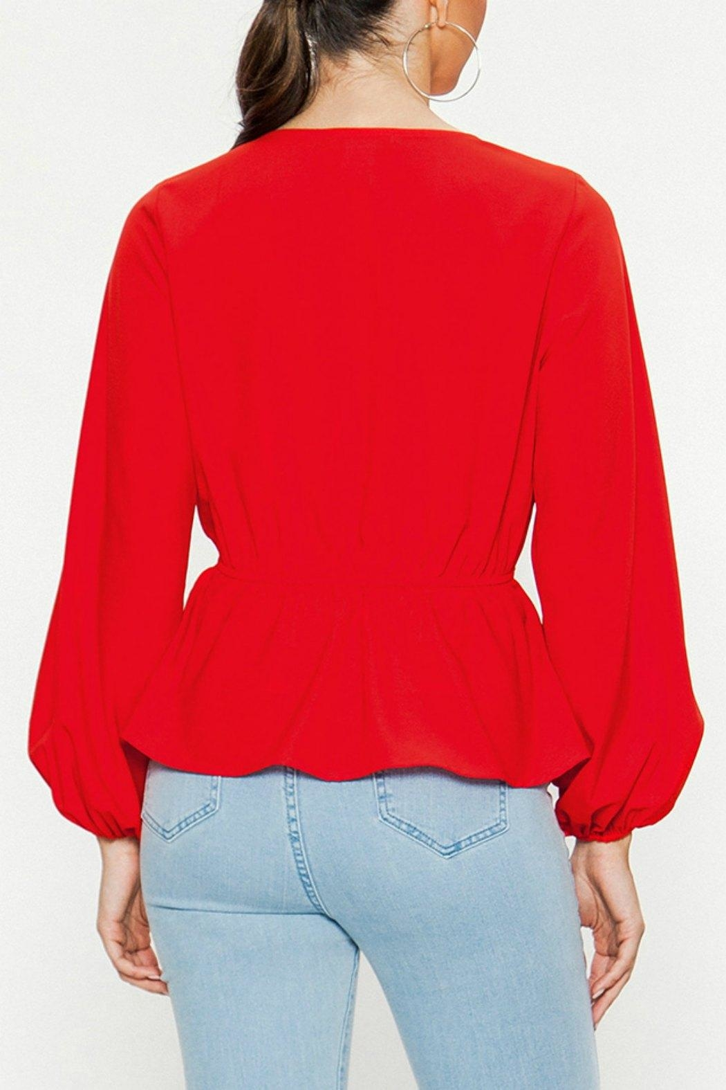 Flying Tomato The Beautiful Blouse - Side Cropped Image
