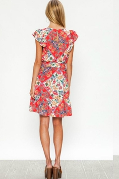 Flying Tomato The Red-Patch Dress - Alternate List Image