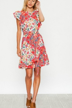Flying Tomato The Red-Patch Dress - Product List Image