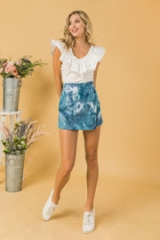 Flying Tomato Tie Dye Skort - Product Mini Image
