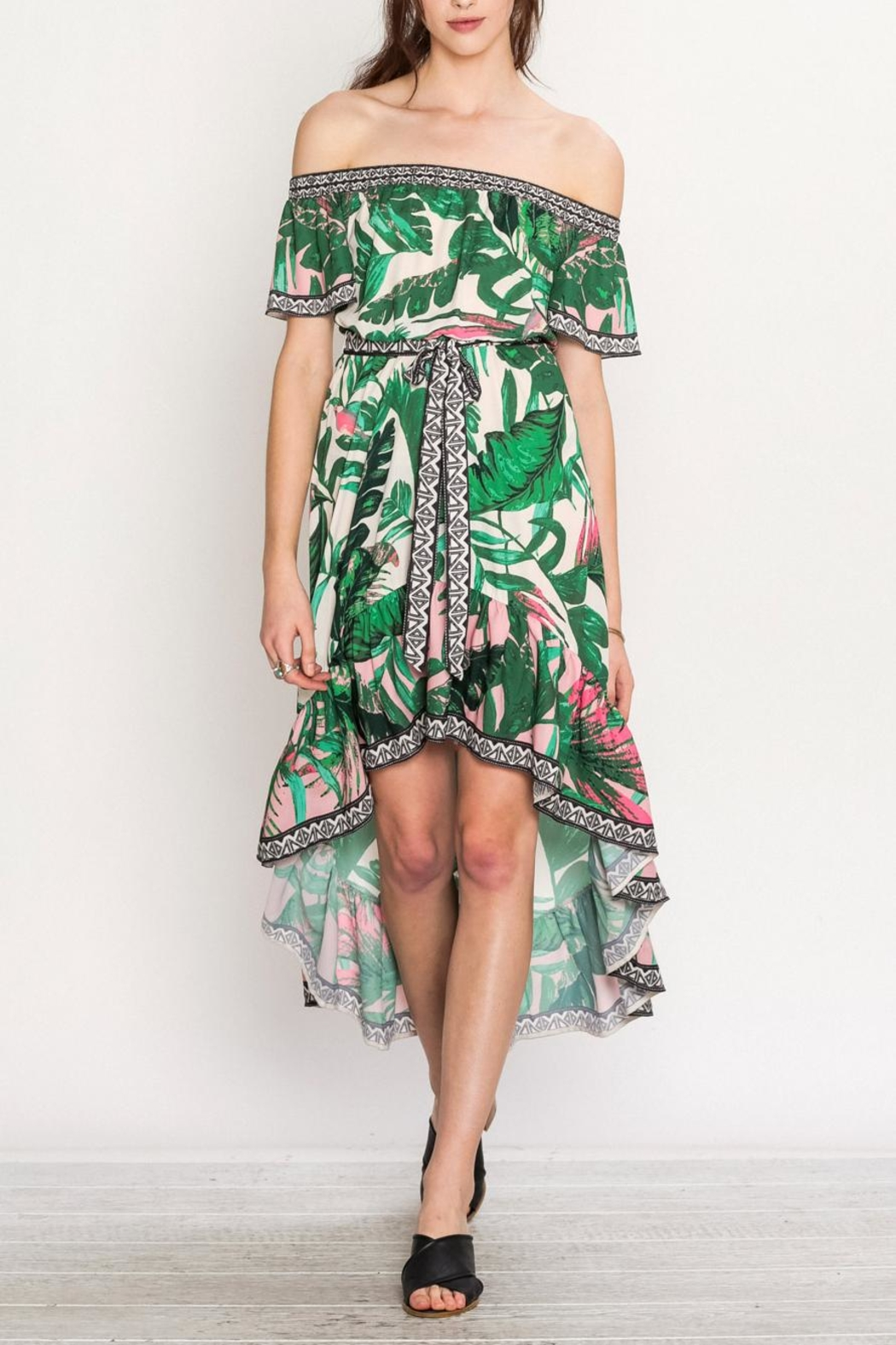 Flying Tomato Tropical Day Dress - Main Image