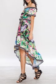 Flying Tomato Tropical Dress - Back cropped