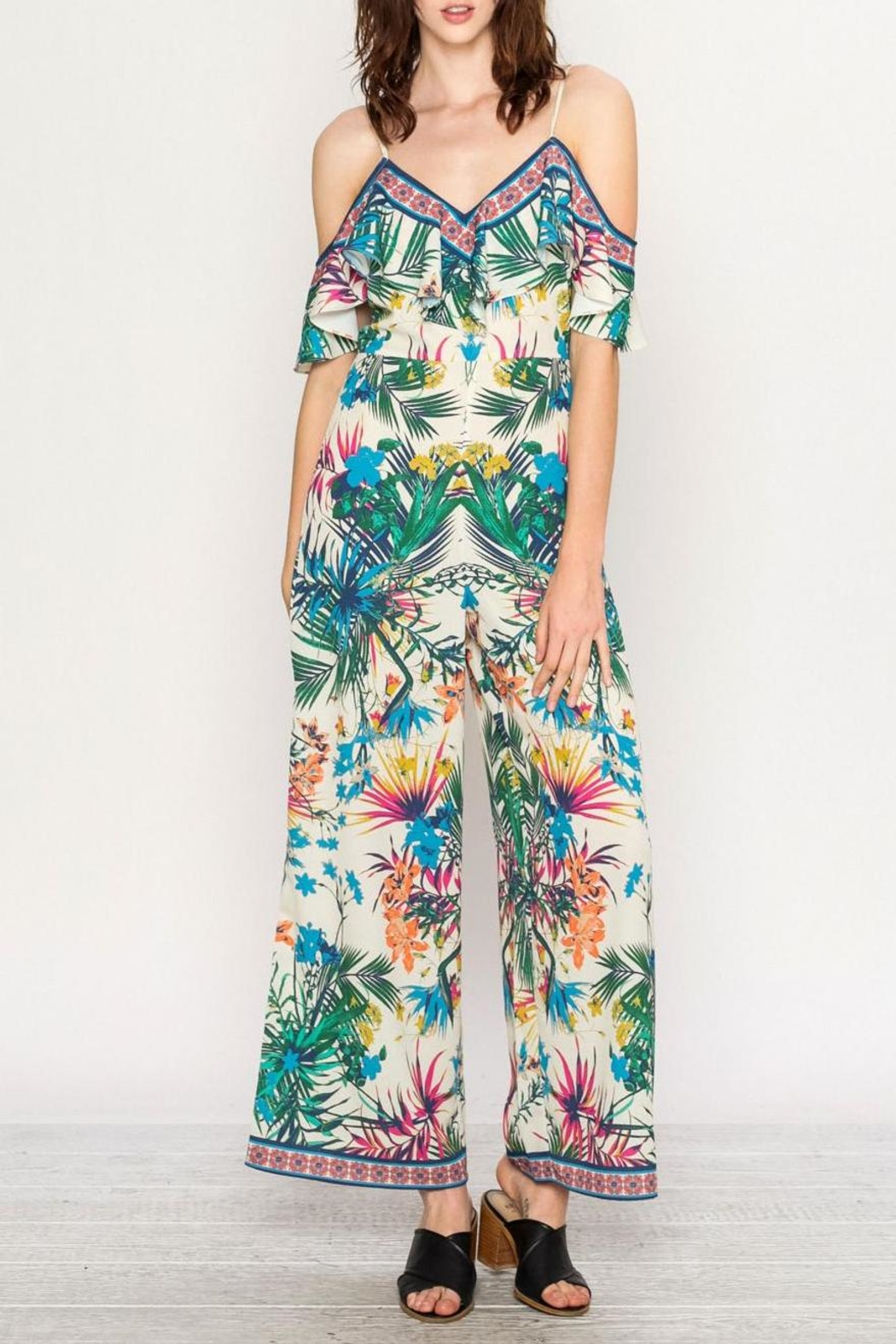 Flying Tomato Tropical Jumpsuit - Main Image