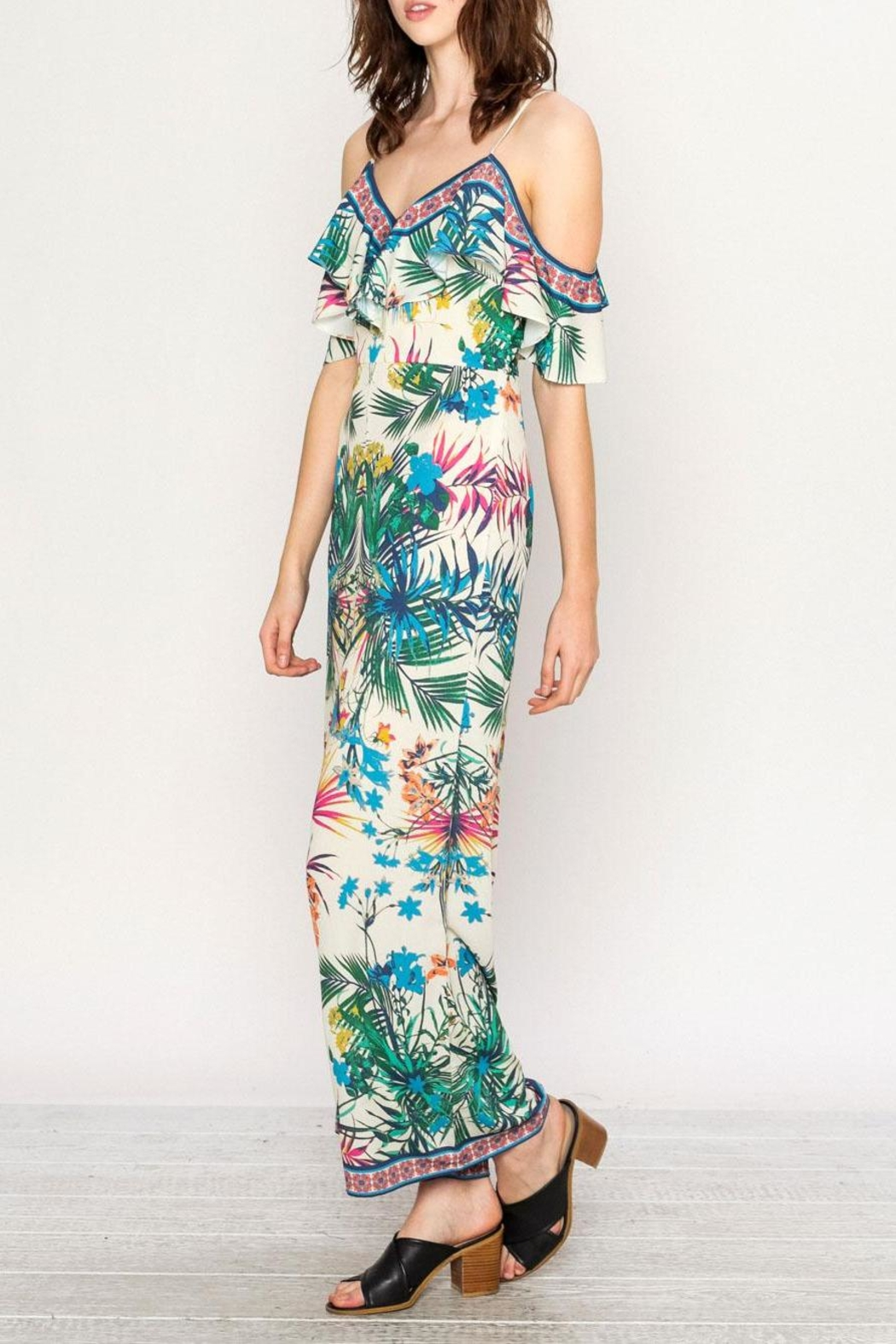 Flying Tomato Tropical Jumpsuit - Front Full Image