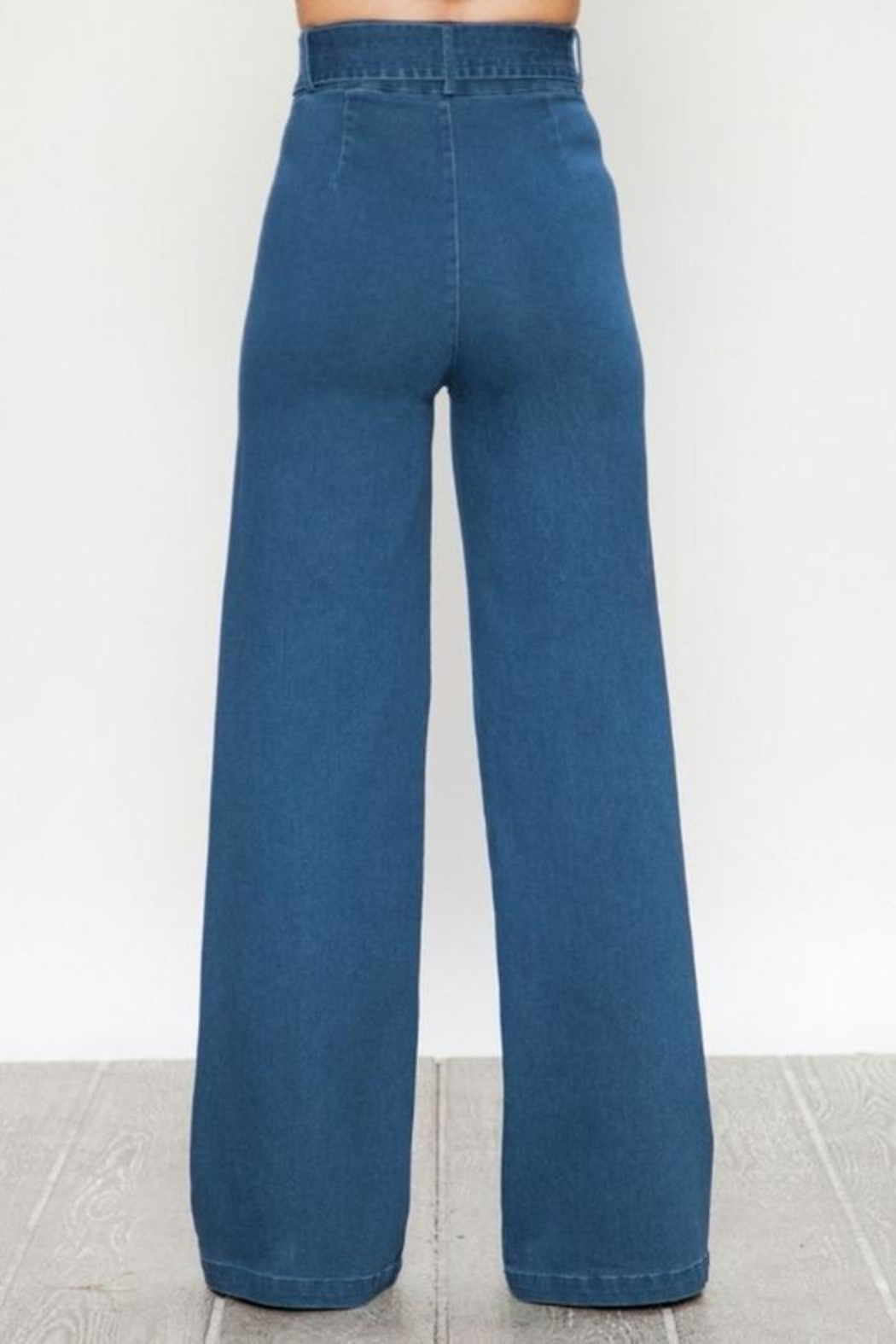 Flying Tomato Wide Leg Jeans - Front Full Image