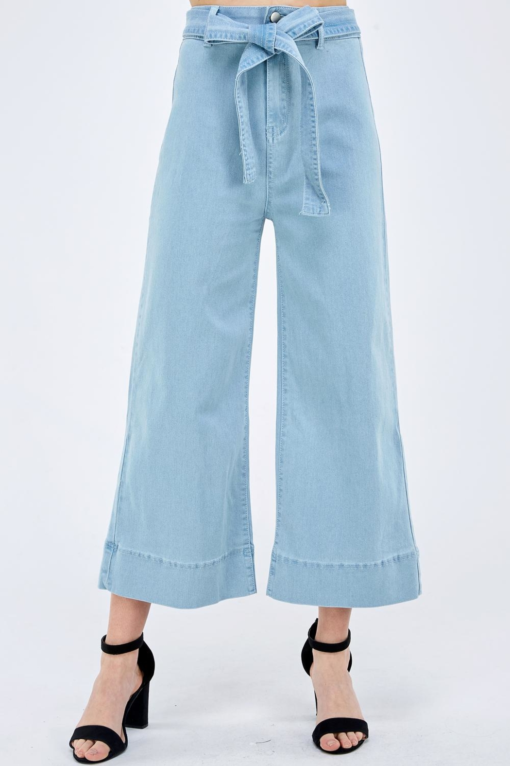 Flying Tomato Wide Leg Pants - Front Cropped Image