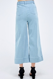 Flying Tomato Wide Leg Pants - Back cropped