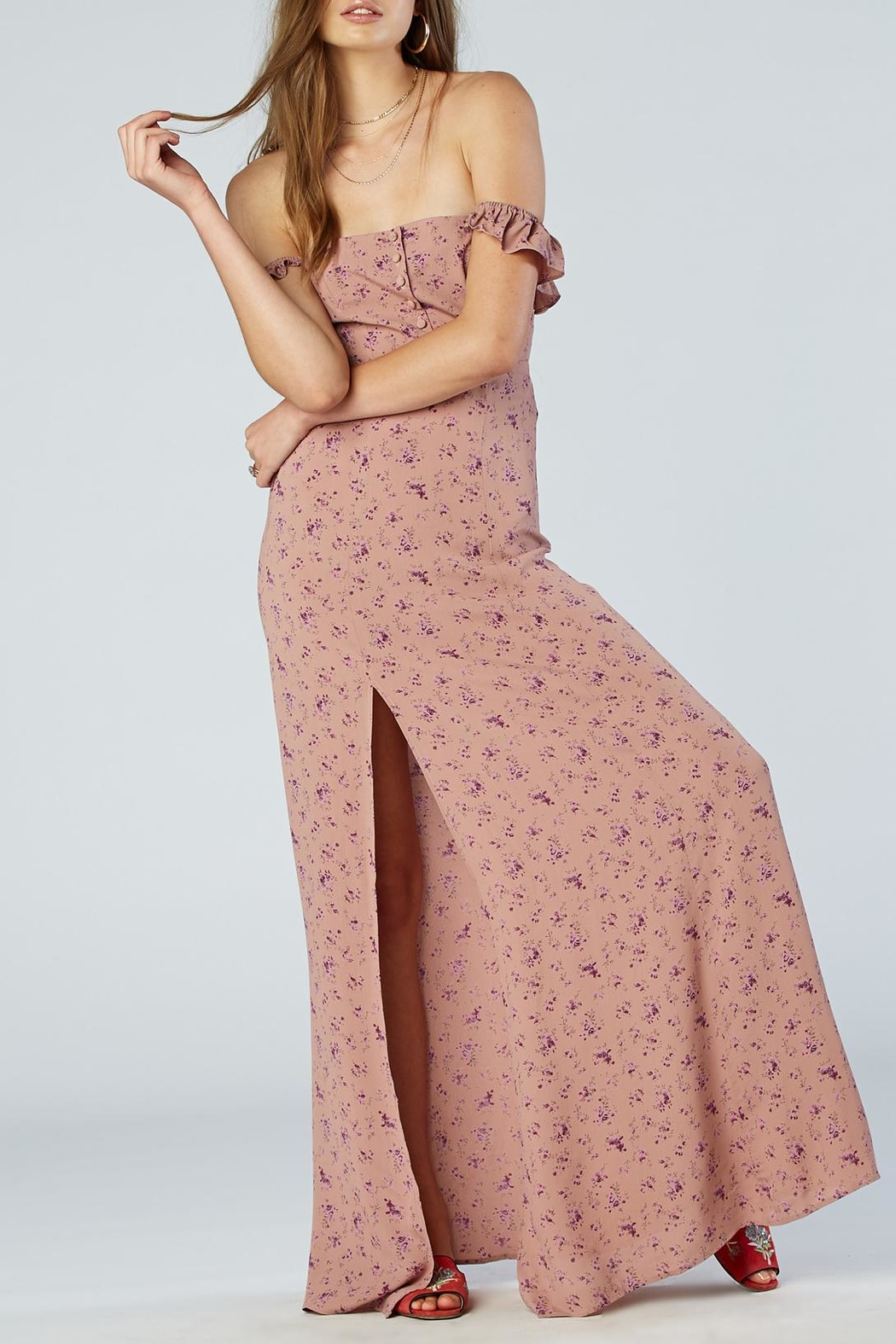 Flynn Skye Bardot Maxi Dress From San Diego By Dolcetti Boutique